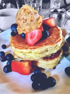 Die besten Pancakes der Welt im Five Leaves, Bildquelle: Eigene Aufnahme