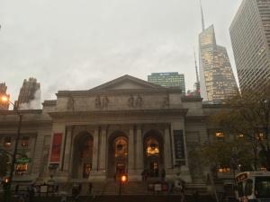 New York Public Library, Bildquelle: Eigene Aufnahme