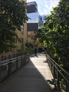Die begrünte High Line, Bildquelle: Eigene Aufnahme