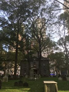 Die St. Pauls Chapel, Bildquelle: Eigene Aufnahme