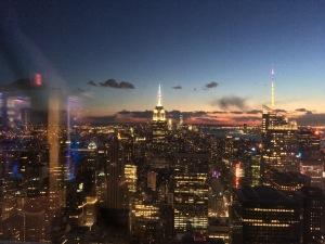 Atemberaubende Aussicht vom Top of the Rock, Bildquelle: Eigene Aufnahme